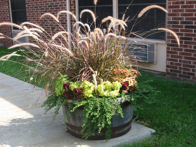 Flower Beds And Pots Summit Lawn